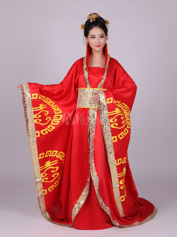Chinese Traditional Dress And Shoes