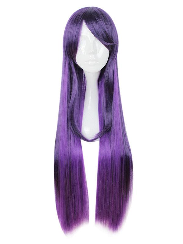 Buy Anime Kawaii Girl Harajuku Style Purple Cosplay Wig for $22.39 in Milanoo store
