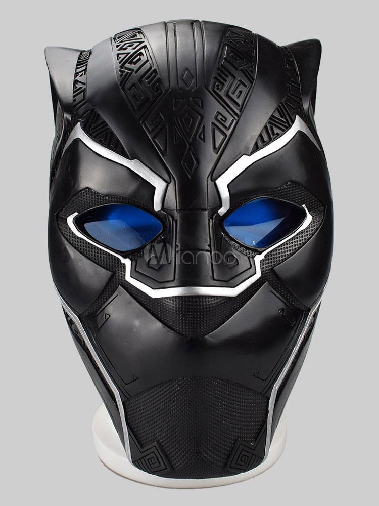 Marvel Comics Black Panther TChalla Halloween Cosplay Mask