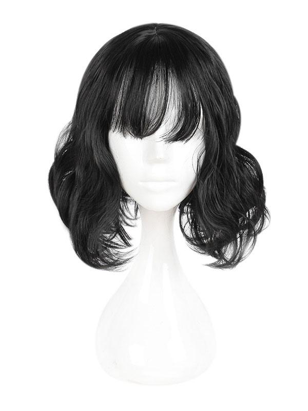 Harajuku Lolita Wig Wispy Fringe Bang Natural