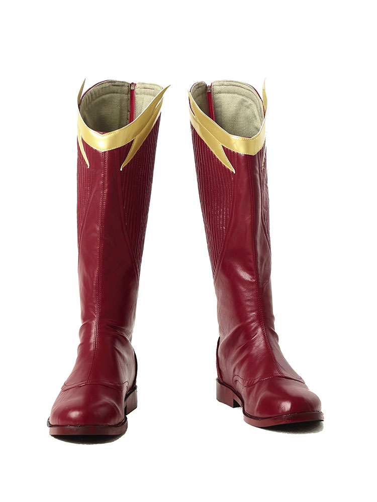 Buy The Flash Season 2 Barry Allen Halloween Cosplay Shoes for $62.99 in Milanoo store