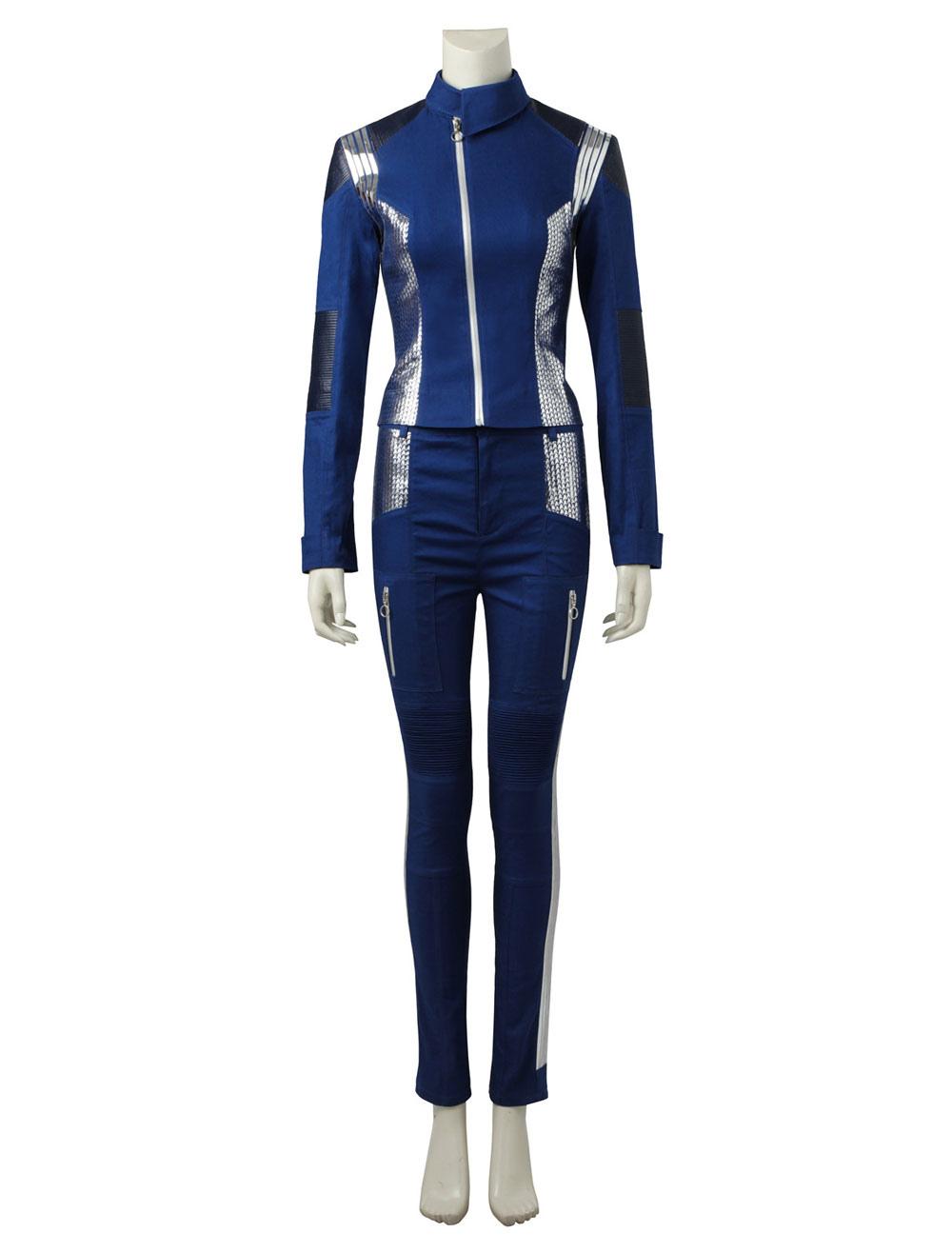 Buy Star Trek Discovery Michael Burnham Cosplay Halloween Cosplay Costume for $194.39 in Milanoo store