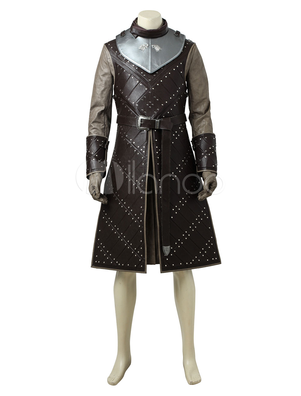 Game Of Thrones Season 7 Jon Snow Halloween Cosplay Costume