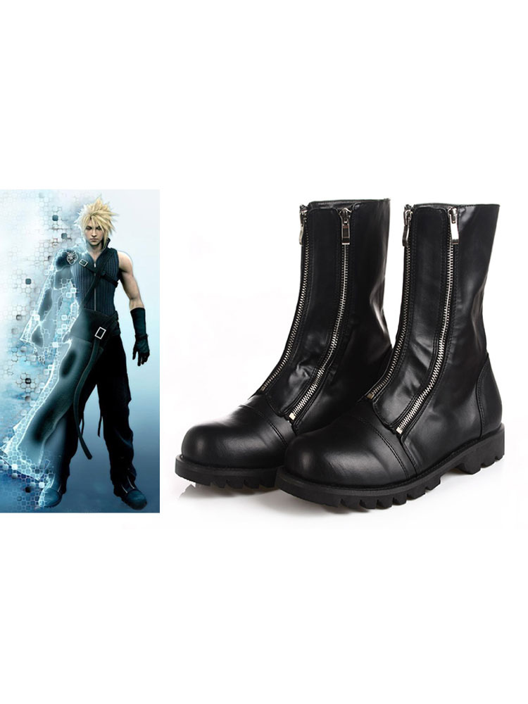 Final Fantasy VII Cloud Halloween Cosplay Shoes