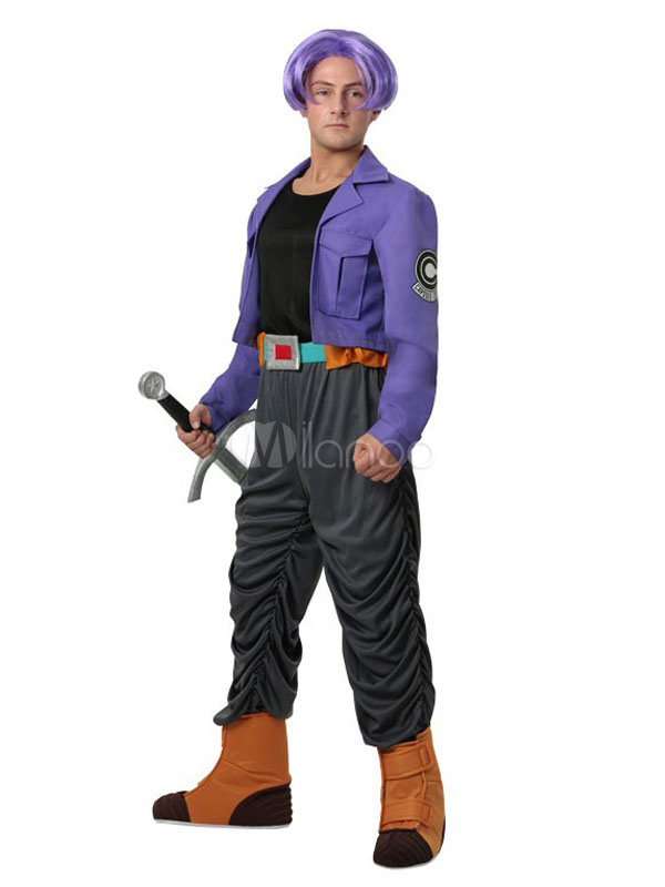 Dragon Ball Z Trunks Halloween Cosplay Costume