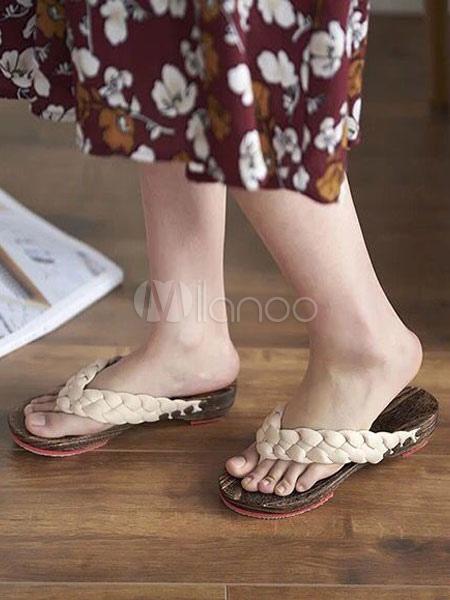 Kimono Sandali Yn8movnwp0 Geta Giapponesi Legno Di Calzature 0XnP8wOkN