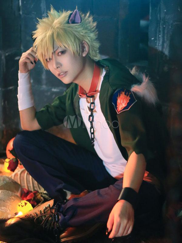 Boku No Hero Academia Bnha Bakugou Katsuki Halloween Bnha Cosplay Costume