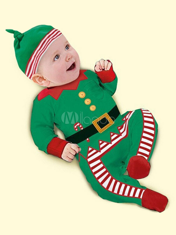 karneval kost m kleinkind weihnachtskinder roter overall und hut. Black Bedroom Furniture Sets. Home Design Ideas