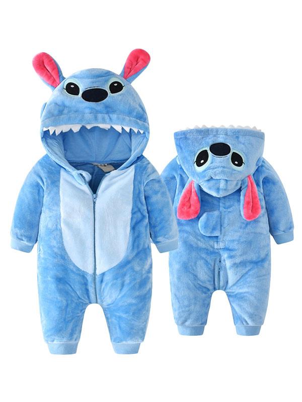 Unisex Pajamas Animal Rompers Baby//Kids Cosplay Jumpsuit Apparel Cartoon Hooded Pajamas