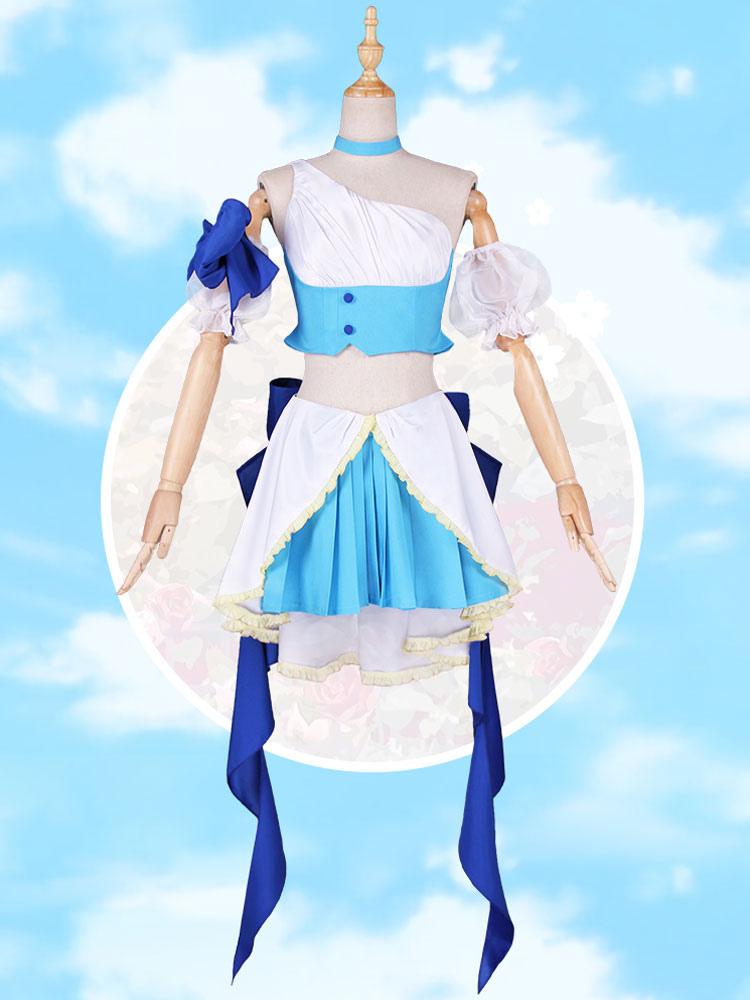 Mahou Shoujo minerai Magique Fille UNO Saki Mikage sakuyo Cosplay Costume Outfit Costume