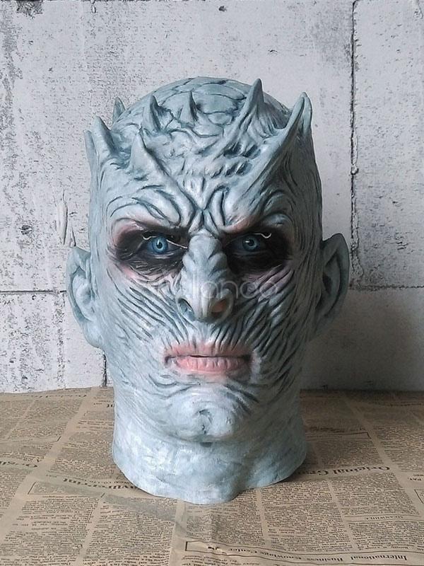 Game Of Thrones White Walker Full Head Nightu0027s King Mask Halloween Costume-No. ... & Game Of Thrones White Walker Full Head Nightu0027s King Mask Halloween ...
