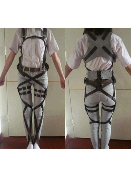 Attack On Titan Eren Yeager Halloween Cosplay Costume All Belt Set