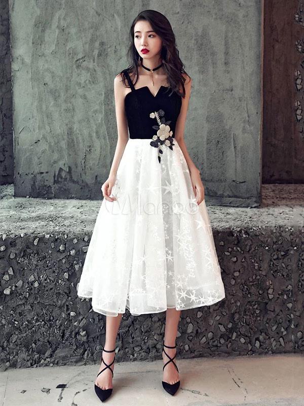 fa96039467 Vestidos de cóctel Vestido de encaje corto de encaje negro Vestido de  fiesta de terciopelo de ...
