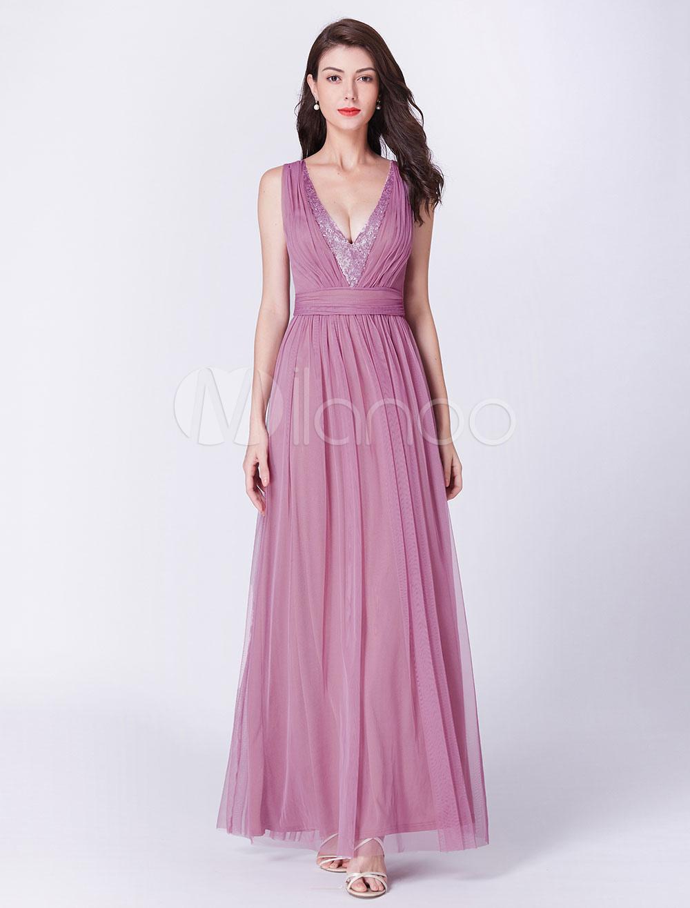robes de bal roses robe de demoiselle d 39 honneur longue. Black Bedroom Furniture Sets. Home Design Ideas