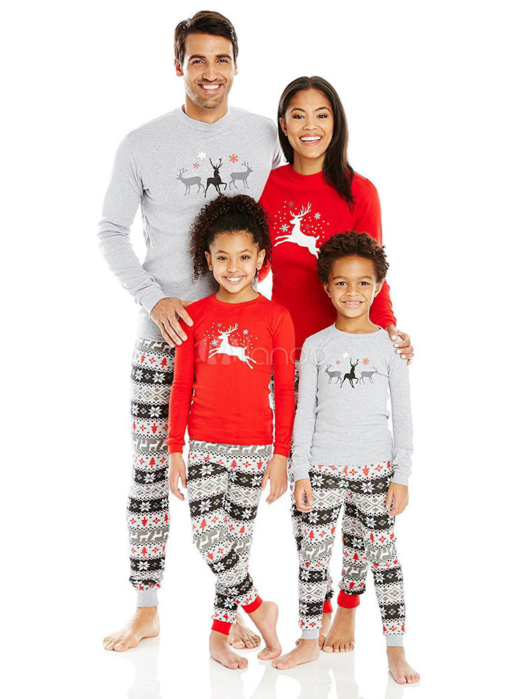 ... Matching Family Christmas Pajamas Mother Printed Top And Pants 2 Piece  Set For Women-No ... 5c45020dd