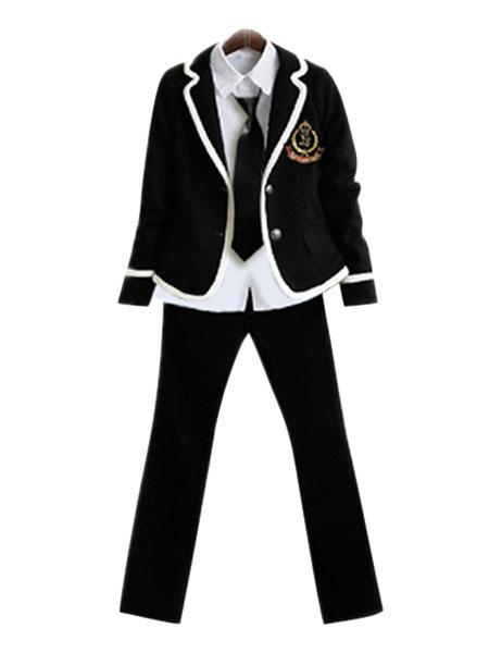9bb41d0b2 Uniforme escolar britânico para homens Uniforme de menino de escola japonesa