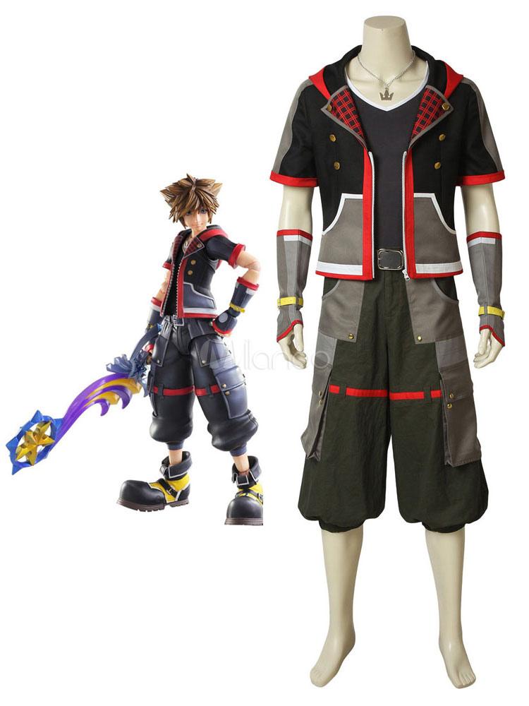 Kingdom Hearts 3 Sora Halloween Cosplay Costume