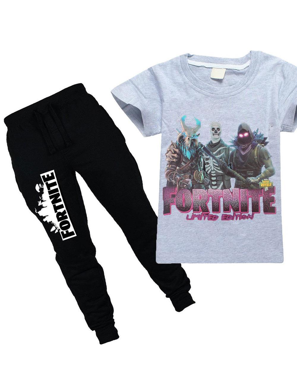 Fortnite Blue Pajamas Onesie Set Game Pajamas Milanoo Com