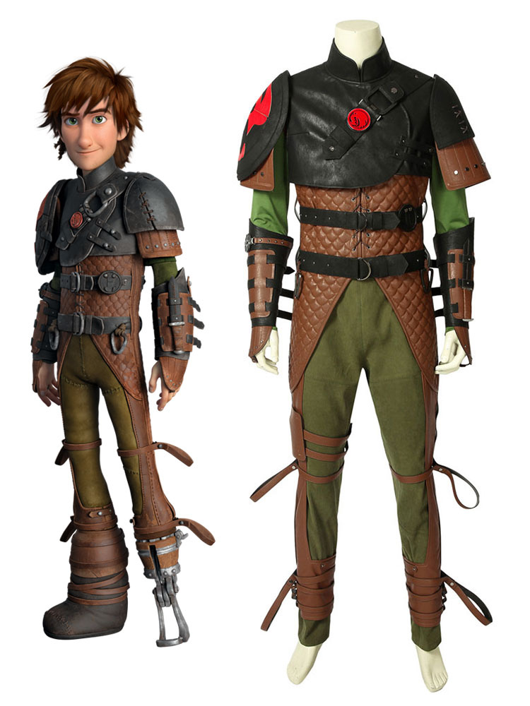 How To Train Your Dragon 2 Hiccup Halloween Cosplay Costume Milanoo Com