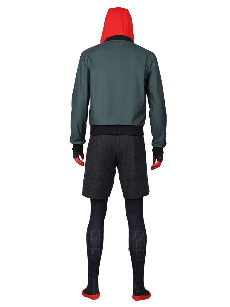 Spider-Man Into the Spider-Verse Miles Cosplay Kostüm Costume Outfit Halloween