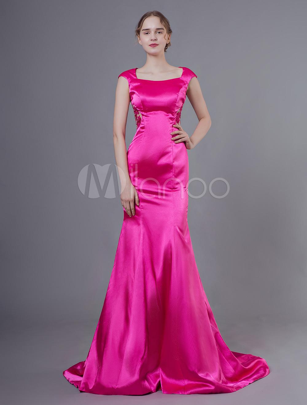 Abendkleider rose gro handel abendkleider rose online - Milanoo abendkleider ...
