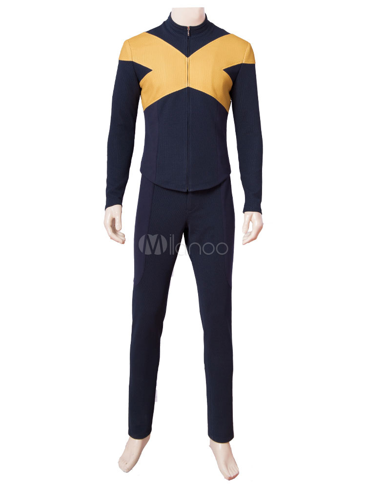 X Men Film Cosplay Dark Phoenix Costume Suit For Men Halloween