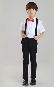 Multicolor Boy's Suit Chic Bow Tie Polyester Children's Suit