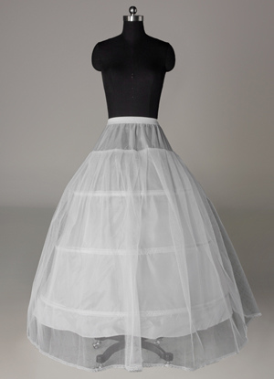 Two-Tier Ball Gown Wedding Petticoat