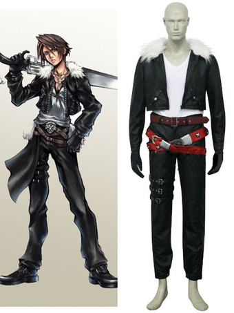 final fantasy viii squall leonhart cosplay costume halloween