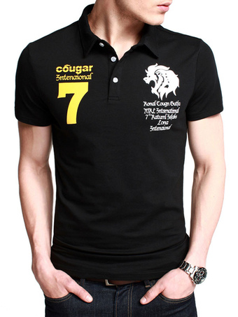 Printed Men's Polo Shirt