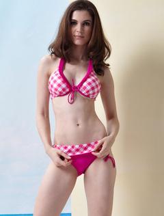 Push Up Halter Bikini Swimsuit