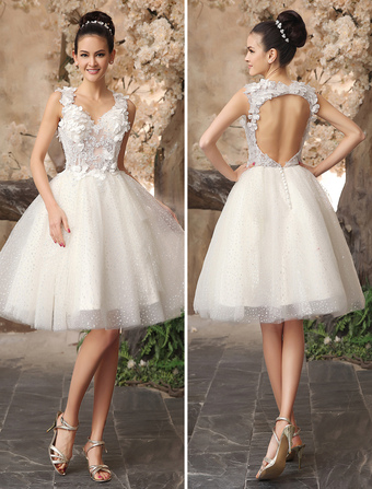 Mini Wedding Dresses Bridal Gowns for Discount Online from
