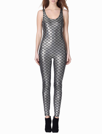 Snake Print Sexy Women's Jumpsuit