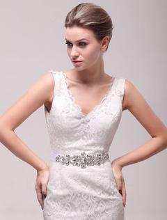 molte scelte di famoso marchio di stilisti pregevole fattura Cintura dell'abito da sposa Vendita a privati e all ingrosso ...