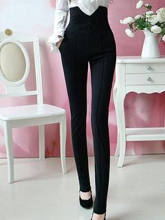 Women's Black Skinny Chic Pants