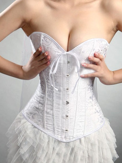 Feminine Overbust Bridal Corsets