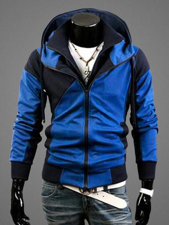 Men's Hooded Pockets Cotton Jacket