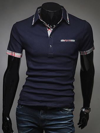 Pockets Cotton Short Sleeves Polo Shirt