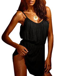 Slip Dress Pleated Women's Summer Dress