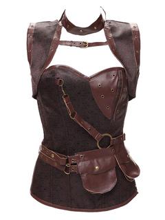 Robe bustier cuir h&m