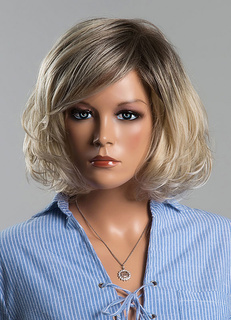 Grey Wigs Human Hair Short Women's Curly Real Hair Wigs