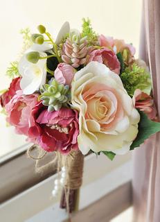 Hochzeit Blumen Blumendeko Hochzeit Blumenstrauss Handgelenk Blumen