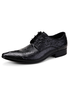Formal Shoes 2017 Wholesale Mens Black Shoes Leather Italy Men Flat Style Casual Special Pattern Loafter Prom Wedding Dress Slip-on