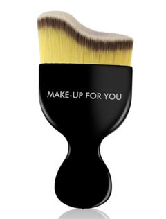 Black Makeup Brushes Women's Portable Microfiber Foundation Brush