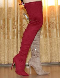 Botas por encima de  la rodilla  de Milanoo 96525f