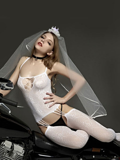 White Lace Teddy Sexy Women's Cut Out Spaghetti Strap Teddy Lingerie