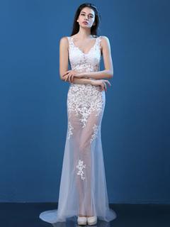 cbc607e748dd Compra Vestidos Baratos de Encaje , Vestidos Negros & blancos de ...