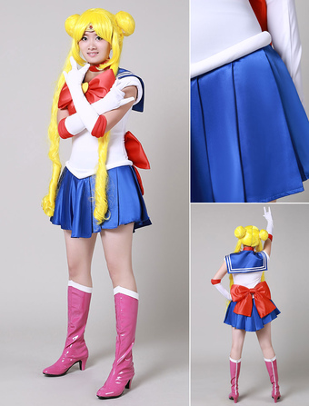 Sailor Moon Tsukino Usagi Cosplay Costumes Halloween  sc 1 st  Milanoo.com & Shop cheap Sailor Moon costumes 2018 | Milanoo.com