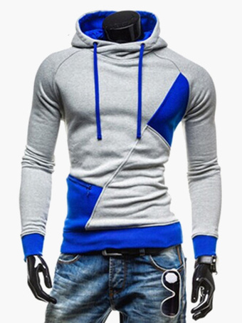 Men's Lace Up Cotton Chic Hoodie