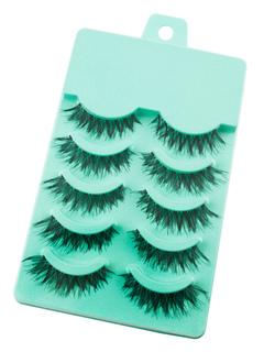 Black Long False Eyelashes 10 Pairs Thick Eye Lashes